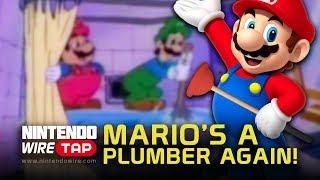 Mario's a Plumber Again! | Nintendo Wiretap