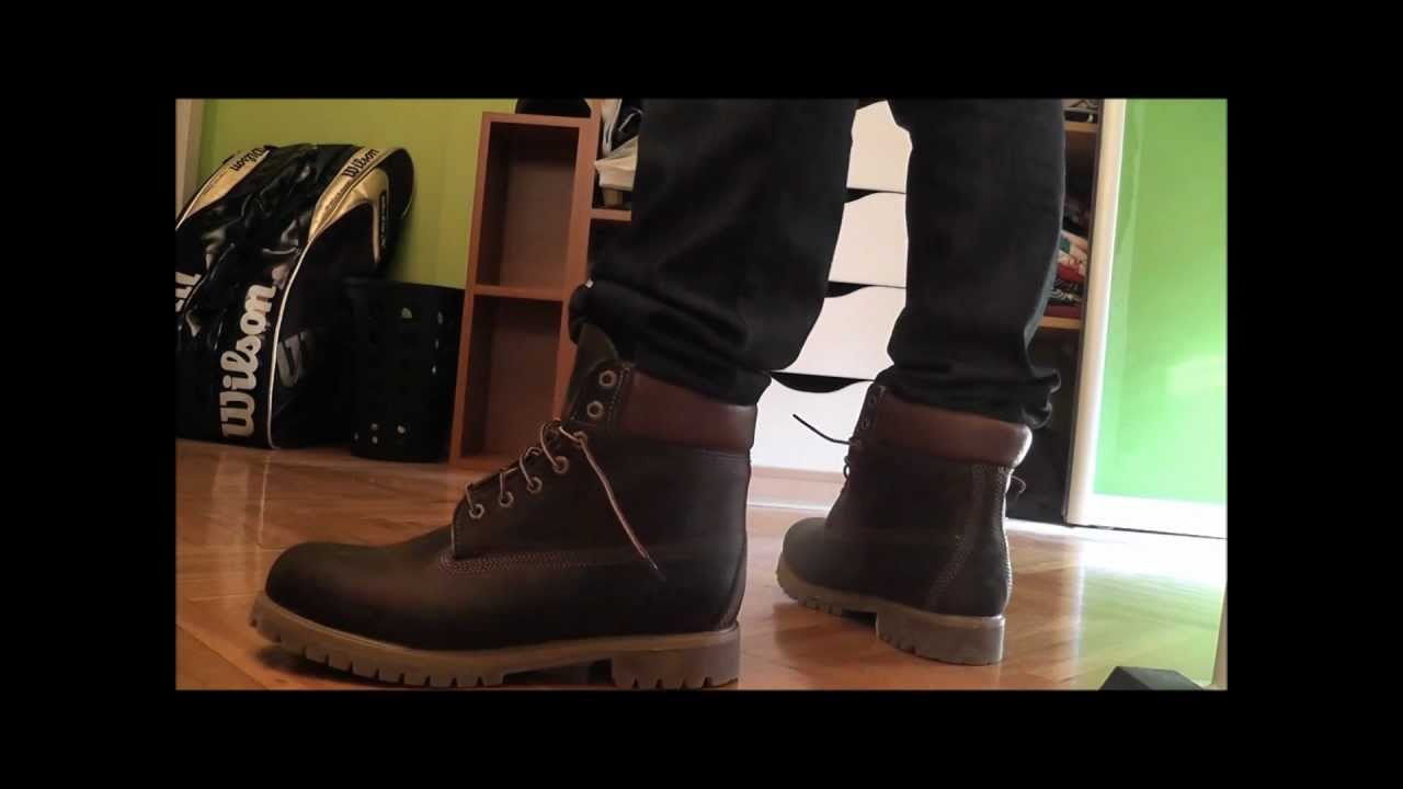 Timberland Dark Brown Shoes
