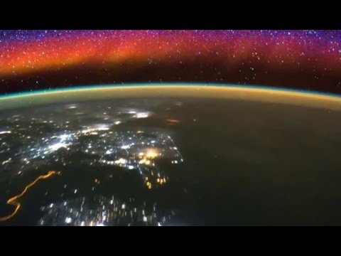 Space Station Captures Awe-Inspiring Time-Lapse of Earth's Upper Atmosphere & Lightning