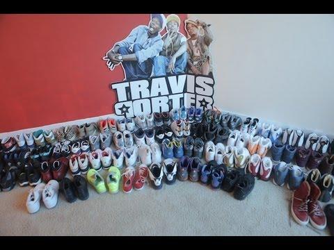 A Sneak Peek Inside Travis Porters Sneaker Closet