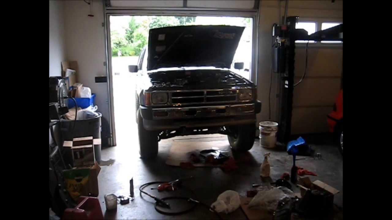 Replacing 4runner Power Steering Pump And Hose Youtube