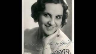 French Soprano Ninon Vallin ~  Chanson Géorgienne  (1931)