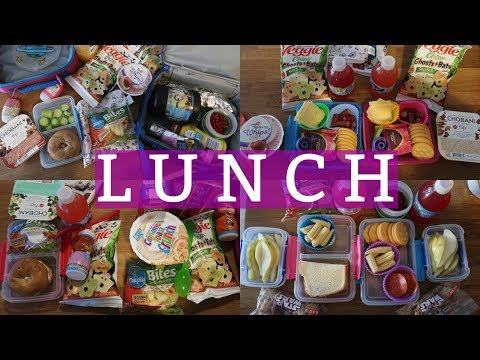 School Lunch Ideas! - Week 9 | Sarah Rae Vlogas |