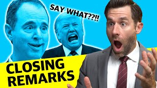 Real Lawyer Reacts to Democrat's EMOTIONAL Closing - INSANE!