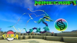 Minecraft Pixelmon+ Tập 28: Dragon Ascent Mega Rayquaza và Lucky Block