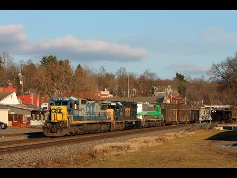 Trains Of Upstate New York - Part 1