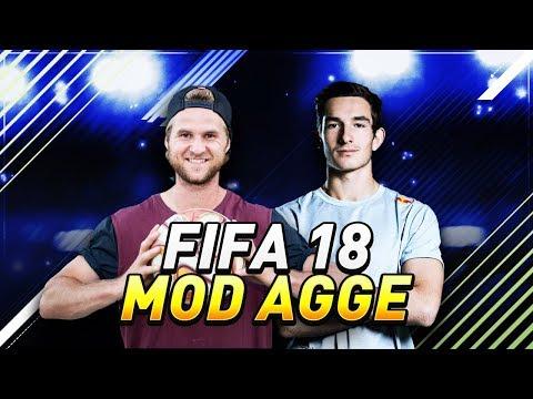 SPILLER FIFA18 MOD VERDENSMESTER!