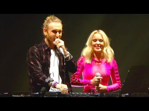 David Guetta ft. Zara Larsson - This Ones For You - Live - UEFA EURO 2016™ Official Song