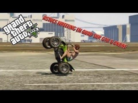 Gta 5 How To Wheelie Dirt Bike For Long Time Youtube
