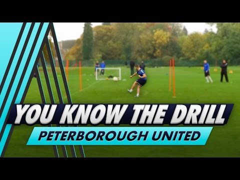 Under Pressure Shooting Challenge  | You Know The Drill - Peterborough United with Conor Washington
