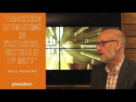 TechSmart - Paul Hoskins from Precedent talks to Allen Reid from Hart Square