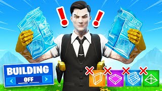 The NO BUILDING Challenge in Fortnite! (Impossible)