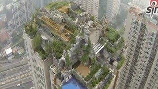 فيلا فاخرة... فوق عمارة من 26 طابقا في الصين