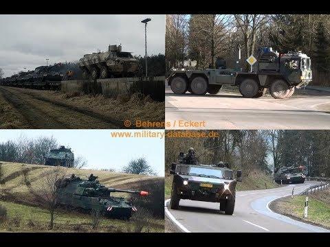 2018 Iron Eagle - Artillerielehrbataillon 325 - NATO Manöver Raum Baumholder