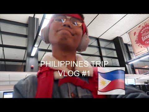 Philippines TRIP Vlog #1 (IM BACK PHILIPPINES)