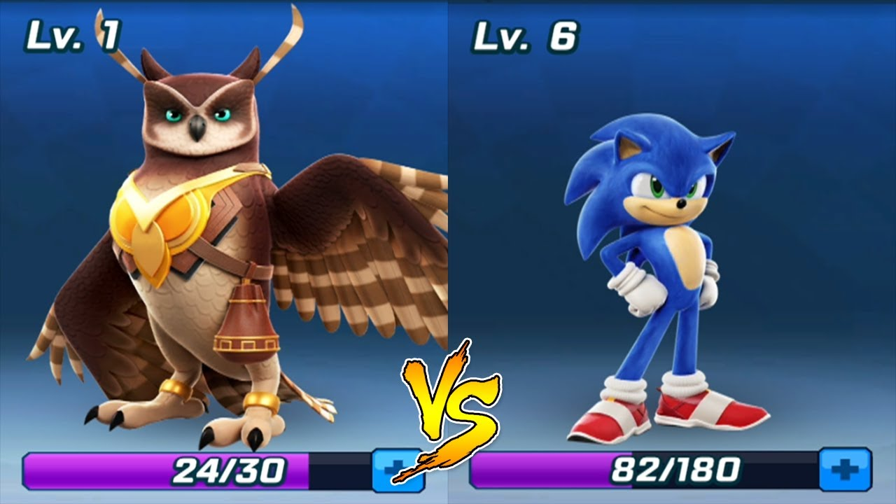 Sonic Forces Longclaw Vs Teen Sonic Unlocked Update Sonic The Hedgehog Movie All Cards Collected Youtube
