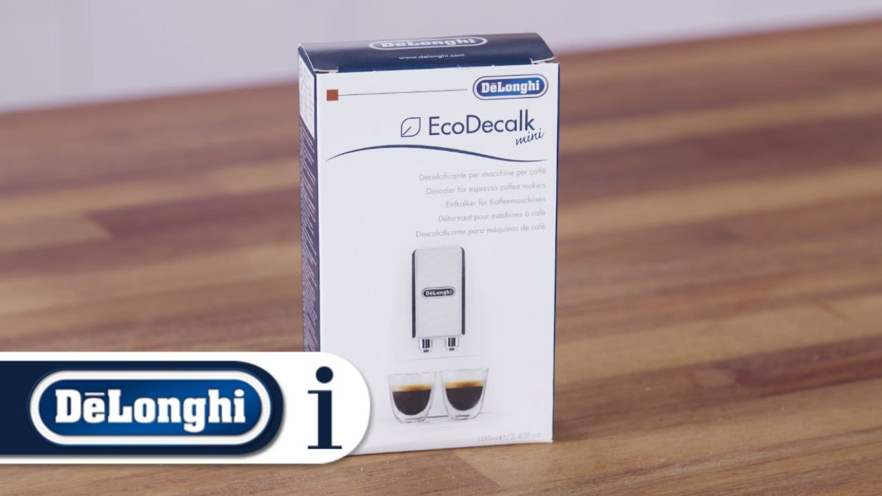 Download How to descale your De'Longhi Dinamica ECAM 350.15.B bean-to-cup coffee machine