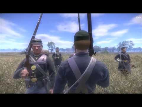 War of Rights - Union - Skirmish -  Union Battle Line, Artillery Fire & Mass Disorganization