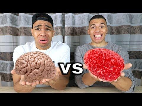 GUMMI ESSEN vs ECHTES ESSEN 5 !!! | PrankBrosTV
