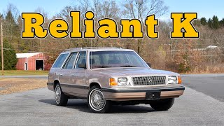 homepage tile video photo for 1988 Plymouth Reliant K Wagon: Regular Car Reviews