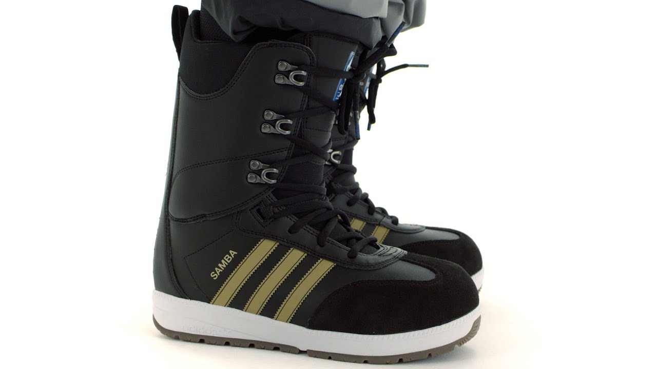unique design more photos clearance prices 2017 / 2018   Adidas Samba ADV Snowboard Boot   Video Overview
