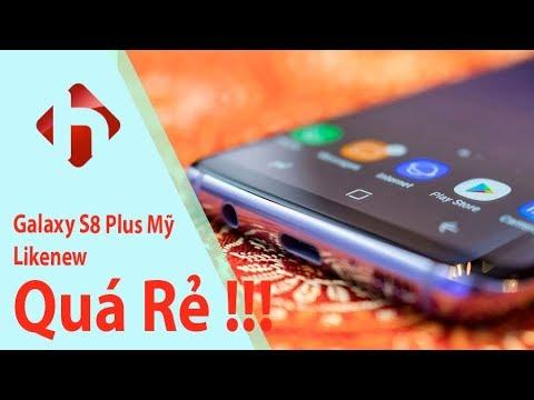 Galaxy S8 Plus Mỹ Likenew - Tiết Kiệm Hơn 9 Triệu  | HungMobile