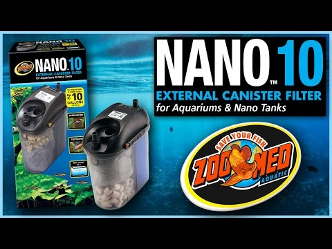 Zoo Med Nano™ 10 External Canister Filter