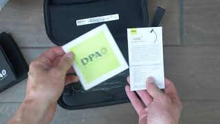DPA d:vote 4099 piano mic unboxing