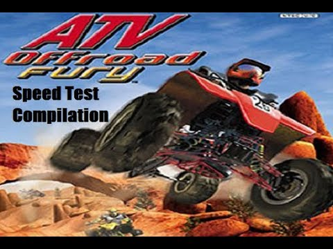 ATV Offroad Fury - Speed Test Compilation