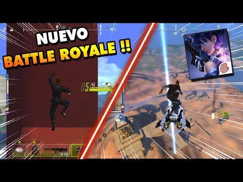 NUEVO BATTLE ROYALE CYBER HUNTER !! LINK DE DESCARGA GAMEPLAY EN ESPAÑOL