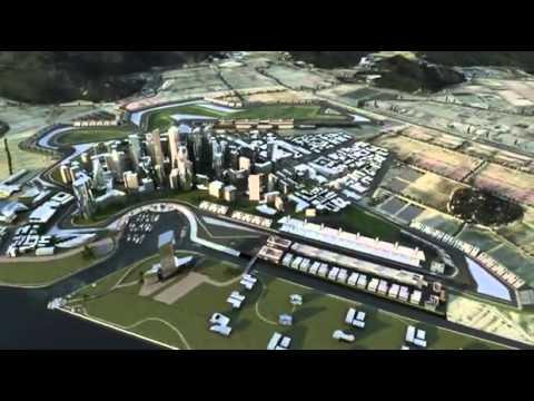 The Korean Grand Prix Track Revealed by Mark Webber