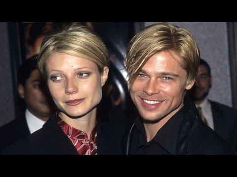 FLASHBACK: Brad Pitt and Gwyneth Paltrow Blush Over Their 1996 Engagement