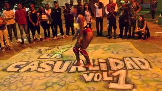 Chichi vs Adrii -  Final Dancehall queen - La Casualidad Battle Vol.1