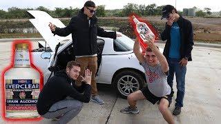 We Made Our Racecar Run On EVERCLEAR!!! thumbnail