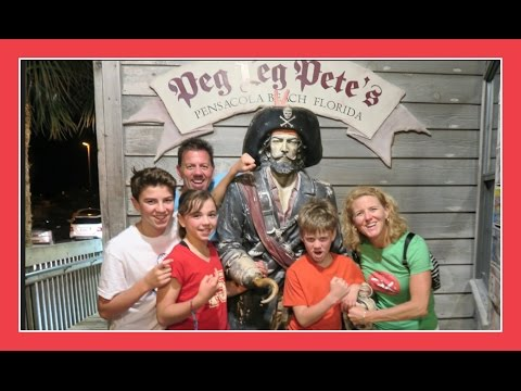 NAME YOUR PIRATE FOOD | Day 1 Florida Celebration Vacation | Flippin' Katie