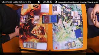 FNM Leviathan Commander R1 - Judith, the Scourge Diva vs Karlov of the Ghost Council