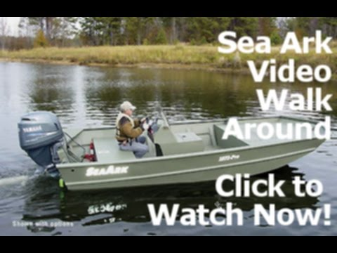 2015 Sea Ark 2072MV Welded Aluminum Fishing Boat Dealer NC SC For Sale