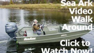 2015 sea ark 2072mv welded aluminum fishing boat dealer nc sc for sale