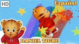 Daniel Tigre en Español 🌈📦 ¡Artesanía con Colores y Cartón! | Videos para Niños