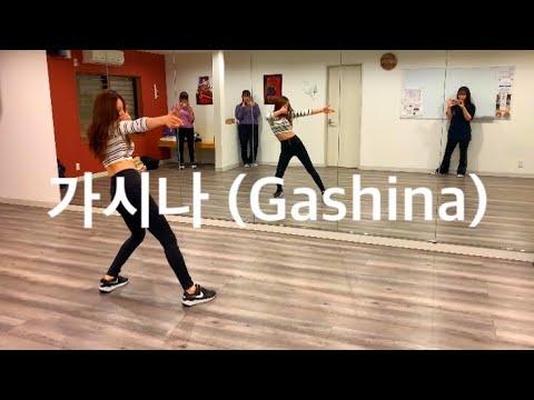 Sunmi 'gashina' mirrored dance practice