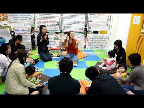 Preschool English Playgroup Lesson