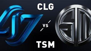 CLG vs TSM - LCS Week 5 Day 1 Match Highlights (Spring 2019)