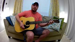 How to Play My Heroes Have Always Been Cowboys, Willie Nelson Guitar Lesson / Tutorial