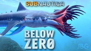 Subnautica Below Zero - НОВЫЙ ЗВЕРЬ - SQUID SHARK - ВЫЖИВАНИЕ #10