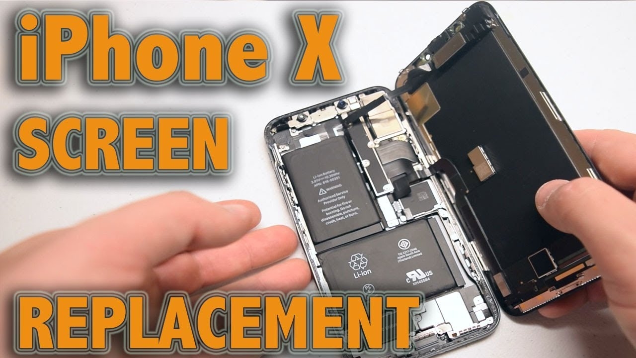 sale retailer c122e df592 iPhone X Screen Replacement