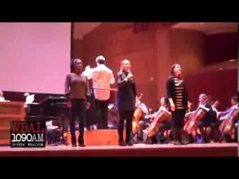 BSO Marvin Hamlisch Tribute Marissa McGowan from A Chorus Line