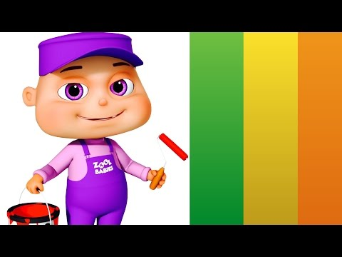 Five Little Babies Dressed As Painters | Five Little Babies Collection | Zool Babies Fun Songs