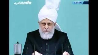 Проповедь Хазрата Мирзы Масрура Ахмада (15-10-10) часть 4