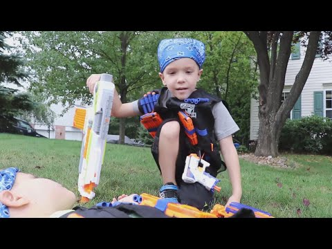 Nerf War:  Payback Time 11 Behind the Scenes