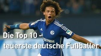 Top 10: Die teuersten deutschen Fußballer – Sané auf Rang 1